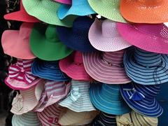 Summer hat selection; Taraz Bazaar