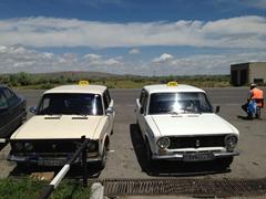 Kazakh taxis