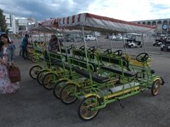 Pedal power - a popular way to explore Bishkek