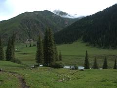 Alpine scenery; Altyn Arashan