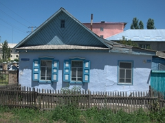 Russian gingerbread houses; Karakol