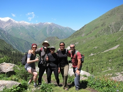 Kate, Warner and Ichi join us on this fantastic excursion to Ala Archa National Park - a great day trip from Bishkek