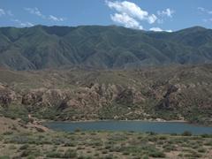Stunning countryside of Kyrgyzstan