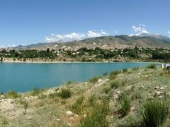 Shoreline of Lake Issyk-Kul