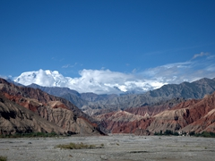 Phenomenal views on our drive down the Karakoram Highway