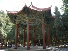 Pavilion near the People's Square; Kashgar