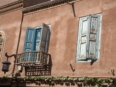 Windows of Kashgar old town