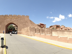 Old Kashgar city walls