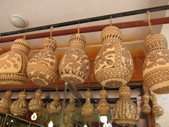 Carved gourd souvenirs