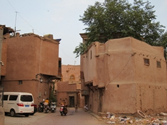Remnants of Kashgar old town