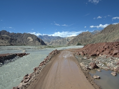 A rugged drive on the Karakoram Highway