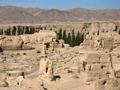 More views of the 8th century ruined city of Jiaohe
