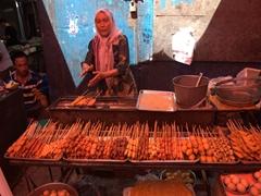 Snack vendor; Turpan Bazaar