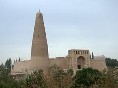 18th century Emin Minaret; Turpan