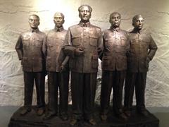 Solemn statues; Turpan Museum