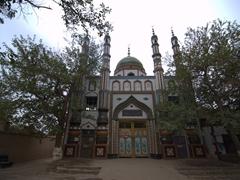 Uigur mosque; Turpan