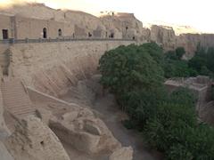 An underwhelming site - the Bezeklik Thousand Buddha Cave complex