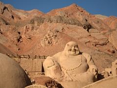 Gigantic Buddha; Flaming Mountains