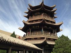 Duhuang White Horse Pagoda, Crescent Moon Lake