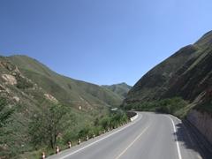 Scenic drive from Xiakou to Chongqing