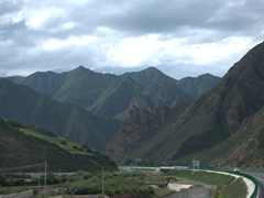 Gorgeous countryside near Xiahe