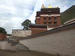 One of the 18 halls of the sprawling Labrang Monastery complex; Xiahe