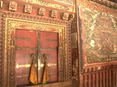 Entrance to the Institute of Medicine; Labrang Monastery