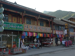 Chuanzhusi is a scenic town that serves as the perfect base for nearby Huanglong National Park