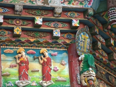 Detail of Chuanzhusi Temple gateway
