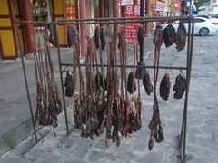 Yak meat for sale; Chuanzhusi