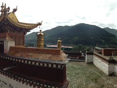 Panorama of Labrang Monastery