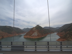 Scenery on the drive from Chongqing to Xiahe