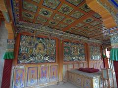 Buddha murals; Labrang Monastery