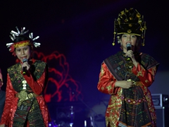 Indonesia performers; Chengdu Music Festival