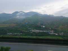 Scenery on our drive from Xichang to Kunming