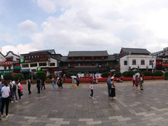 Panorama of the Golden Horse Memorial Archway on Jinbi Road; Kunming