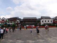 Panorama of the Golden Horse Memorial Archway on Jinbi Road; Kunming