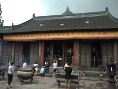 Wenshu Yuan Monastery is the best preserved Buddhist temple in Chengdu