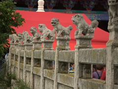 Bridge detail of Yuantong Temple; Kunming