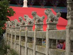 Bridge detail of Yuantong Temple; Kunming