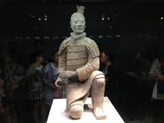 Kneeling archer - one of the most famous of the Terracotta Warriors!
