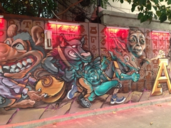 Xi'an street art
