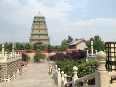Giant Wild Goose Pagoda; Xi'an