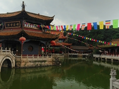 1200 year old Yuantong Temple; Kunming