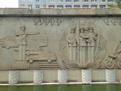 Monument near the Flower and Bird Market; Kunming