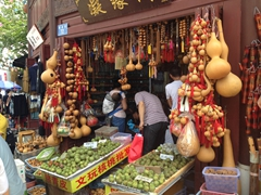 Gourd souvenir shop; Kunming