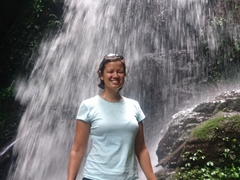 Becky at Pagnueng Waterfall