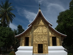 Wat Xieng Thong - one of the most impressive of Luang Prabang's 32 Wats!