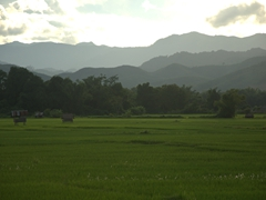 Gorgeous landscapes near Luang Namtha