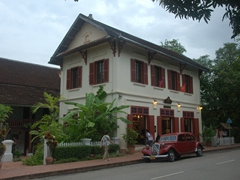 Charming boutique hotel of 3 Nagas; Luang Prabang
